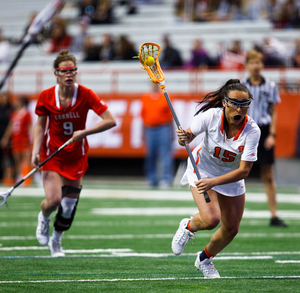 Natalie Wallon and the Orange advanced to the ACC semifinals by scoring 20 goals.